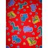  Fabric - Corduroy w_Animals 1 Yd