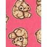 |Fabric - Tumbling Teddies - Pink